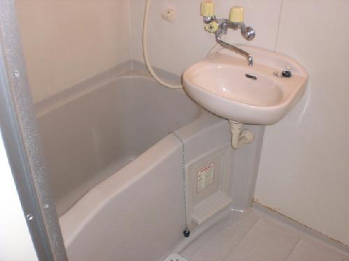 レオパレストゥインクル前沢 205号室の風呂