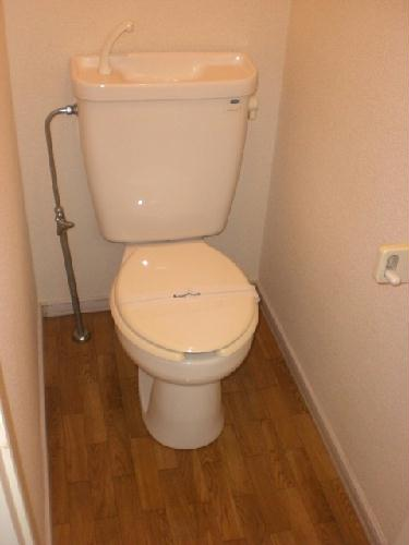 レオパレストゥインクル前沢 205号室のトイレ
