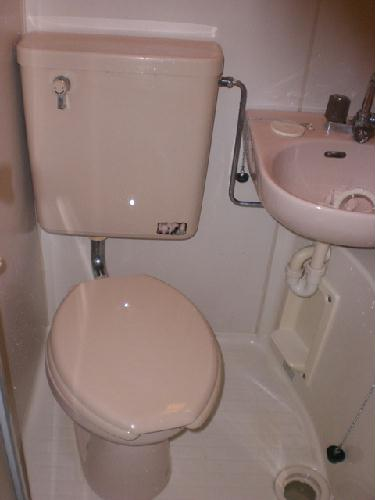 レオパレス21田無 202号室のトイレ