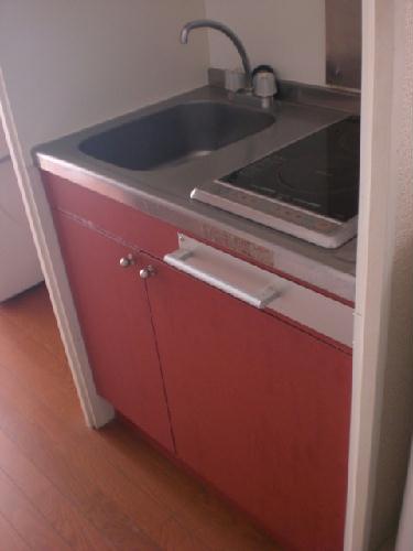 レオパレスリベルテ 101号室のキッチン