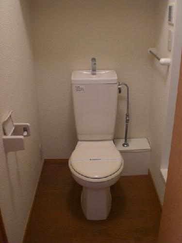 レオパレスリベルテ 101号室のトイレ