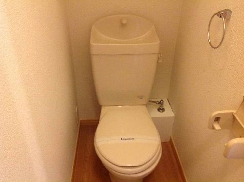 レオパレスシヴⅡ 301号室のトイレ