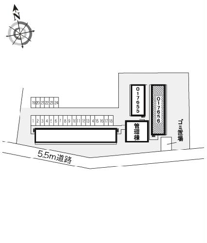 レオパレスBOUGAKU C 104号室のその他共有
