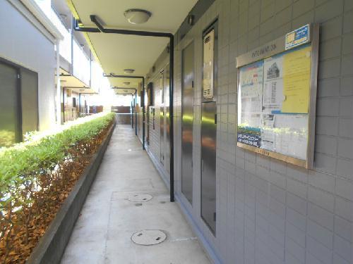 レオパレスBOUGAKU C 104号室のエントランス