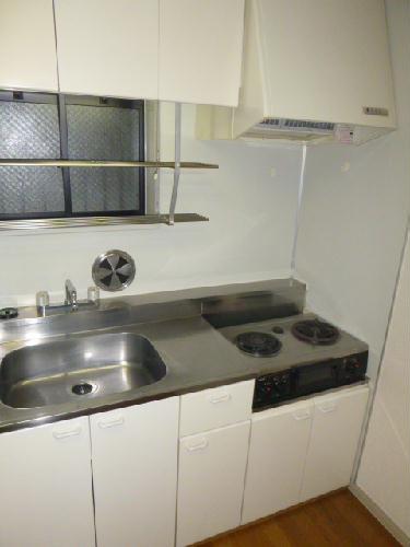 レオパレスBOUGAKU C 104号室のキッチン