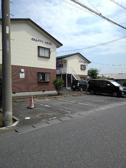 カルムメゾンシミズA 02010号室の駐車場