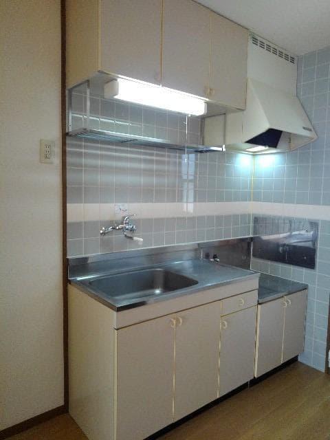 カルムメゾンシミズA 02010号室のキッチン