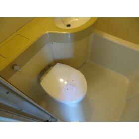 KSハイツ 303号室のトイレ