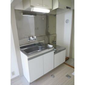 KSハイツ 303号室のキッチン