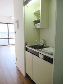 プランドール西品川 304号室のキッチン