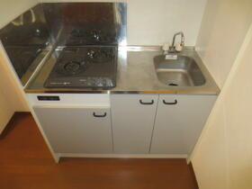 アンプルール・フェール宮内 107号室のキッチン