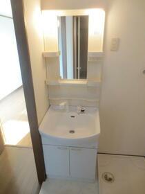 アンプルール・フェール宮内 107号室の洗面所