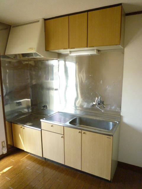 メルベーユ 203号室のキッチン