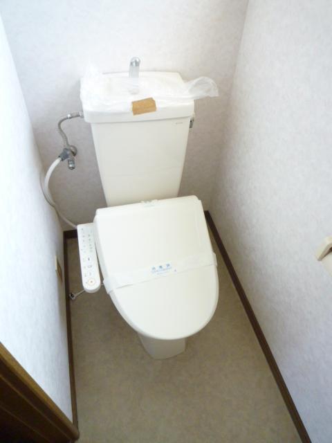 メルベーユ 203号室のトイレ