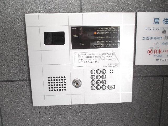エンブル・セレス常磐町 803号室のセキュリティ