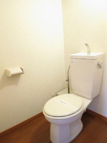 レオパレスフルールⅡ 204号室のトイレ