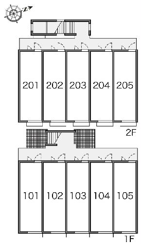 レオパレスsky 205号室のその他