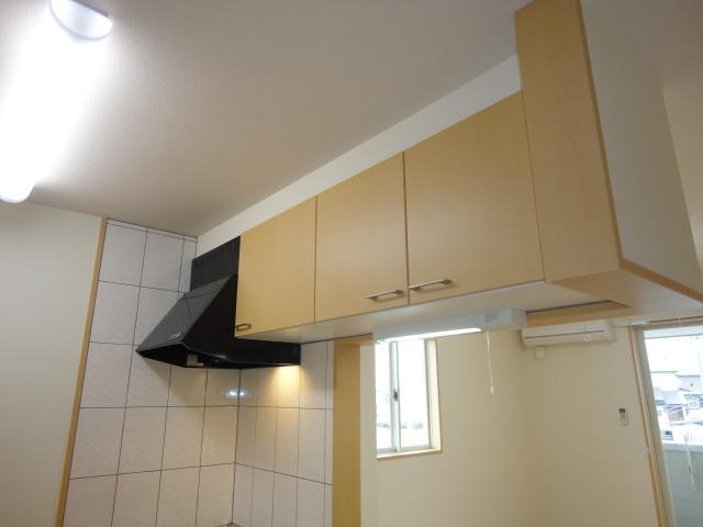 ルミエールB 202号室のキッチン