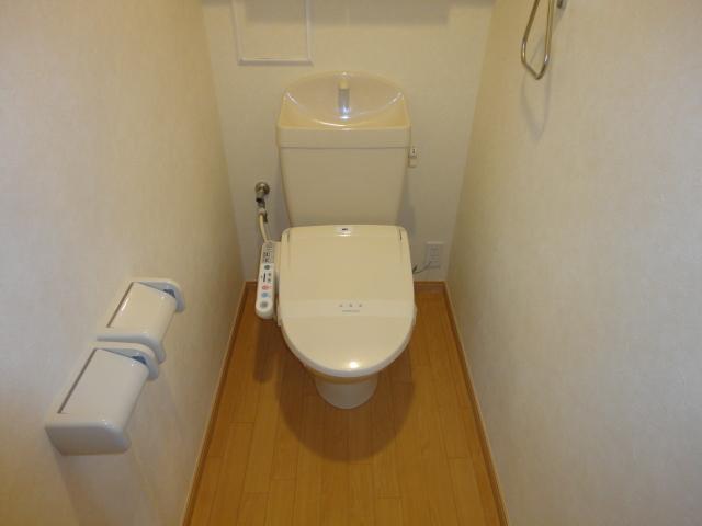 ルミエールB 202号室のトイレ