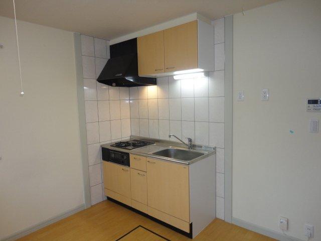 レーヴンレンテB 101号室のキッチン