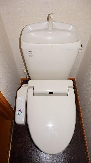 サニーサイド水野 02030号室のトイレ