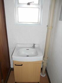 加茂川団地5号棟 304号室の洗面所