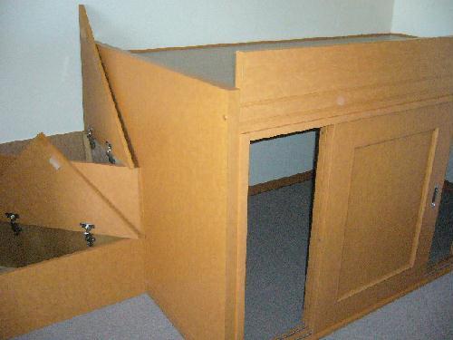 レオパレスKY知光院 205号室のベッドルーム