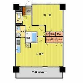 ライオンズマンション浅間町南・1102号室の間取り