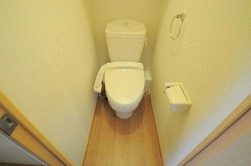 レオパレスオリオン 205号室のトイレ
