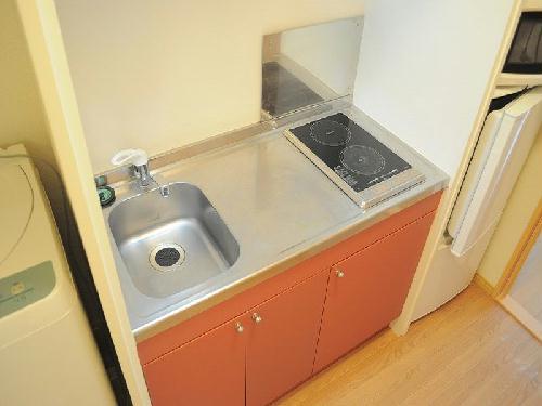 レオパレスオリオン 205号室のキッチン