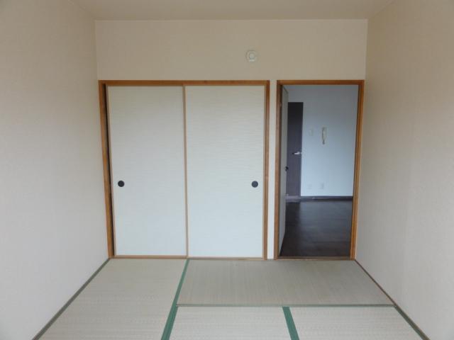 イラーヴァティ C-5号室のベッドルーム