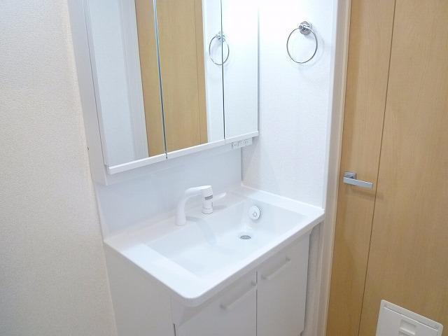 レテ グレイス 01010号室の洗面所