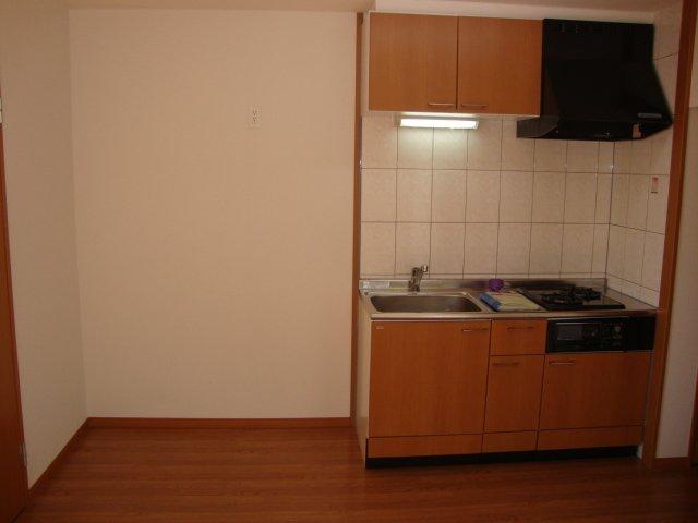 サンシャインハウス 102号室のキッチン