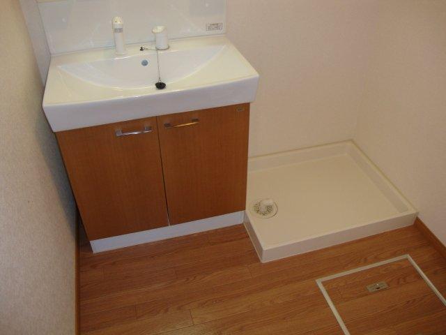 サンシャインハウス 102号室の洗面所