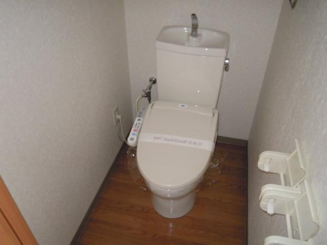 ステラB 101号室のトイレ