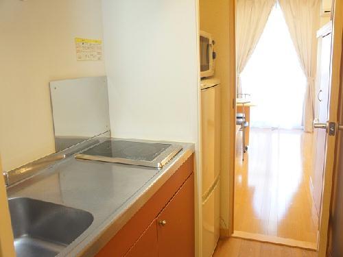 レオパレス柏原公園南 101号室のキッチン