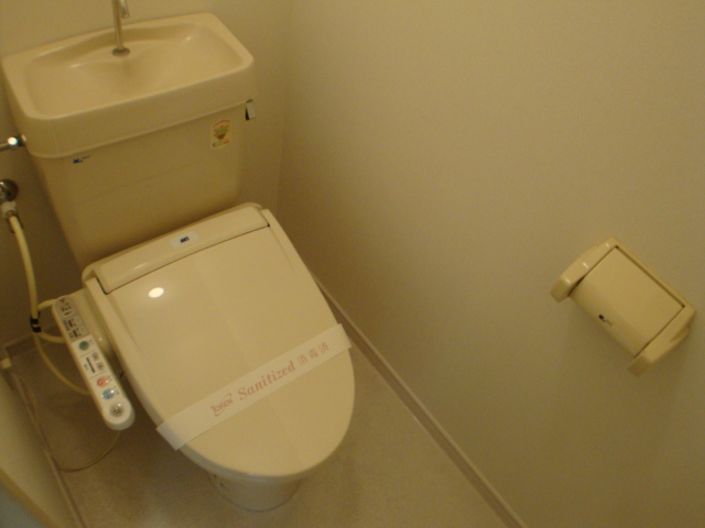 コーポ幸 105号室のトイレ