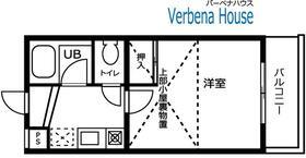 バーベナ ハウス・103号室の間取り