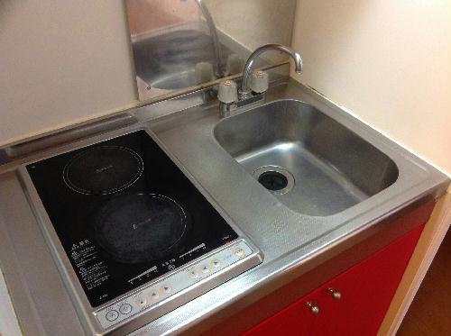 レオパレスゴールド 102号室のキッチン
