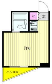 メゾン・ド・ノア元横山501・501号室の間取り
