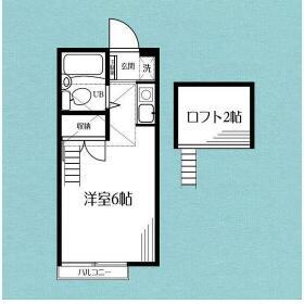 新豊田ハイツ-B号館 201号室の間取り