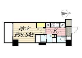 N-stage Hachioji Ⅱ・0104号室の間取り