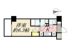 N-stage Hachioji Ⅱ・0308号室の間取り