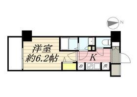 N-stage Hachioji Ⅱ・0704号室の間取り