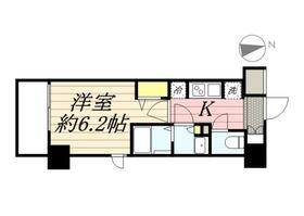 N-stage Hachioji Ⅱ・0705号室の間取り