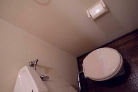 レールサイド南橋本 105号室のトイレ