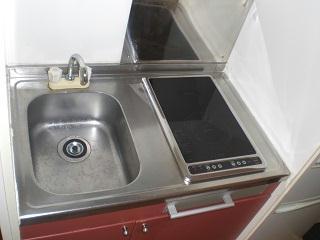 レオパレスGIOIA 201号室のキッチン