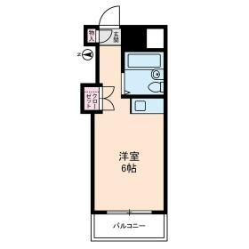 メゾンド・ノア・元横山・0226号室の間取り