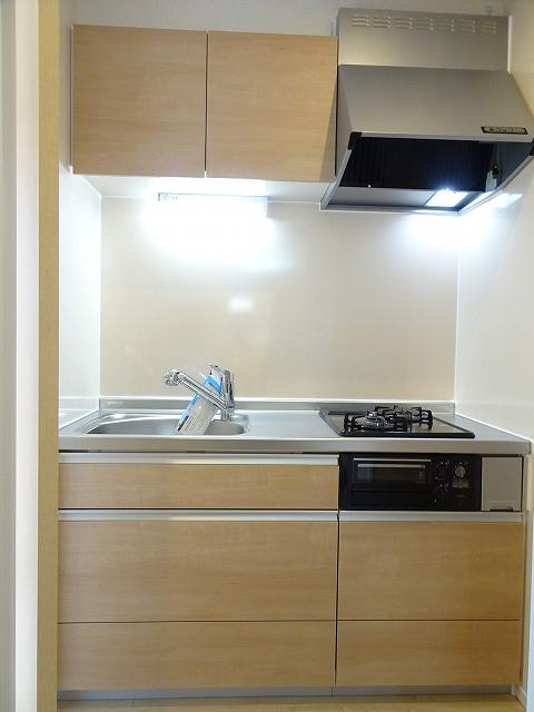 アザレアコート 01030号室のキッチン