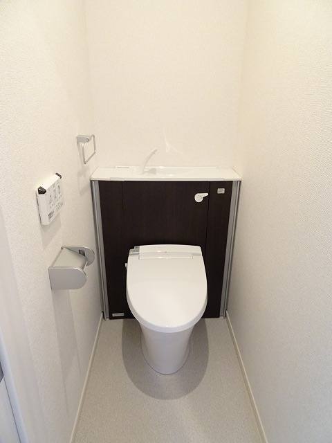 アザレアコート 01030号室のトイレ